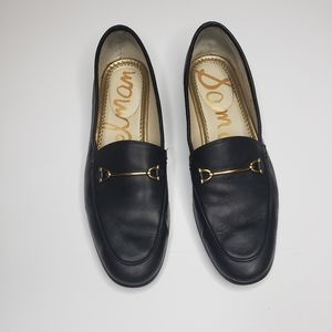 Sam Edelman black leather loafers in size 7M